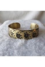 Engraved Metal Cuffs