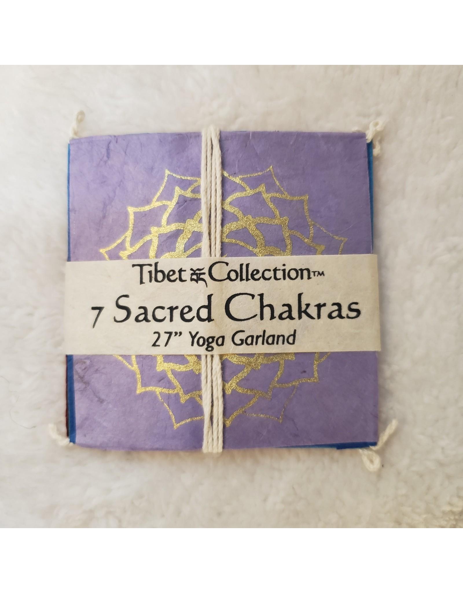Short Chakra Garland