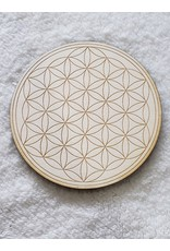 """Zen and Meow Flower of Life Crystal Grid - 6"""""""