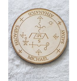 """Zen and Meow Michael Crystal Grid - 6"""""""