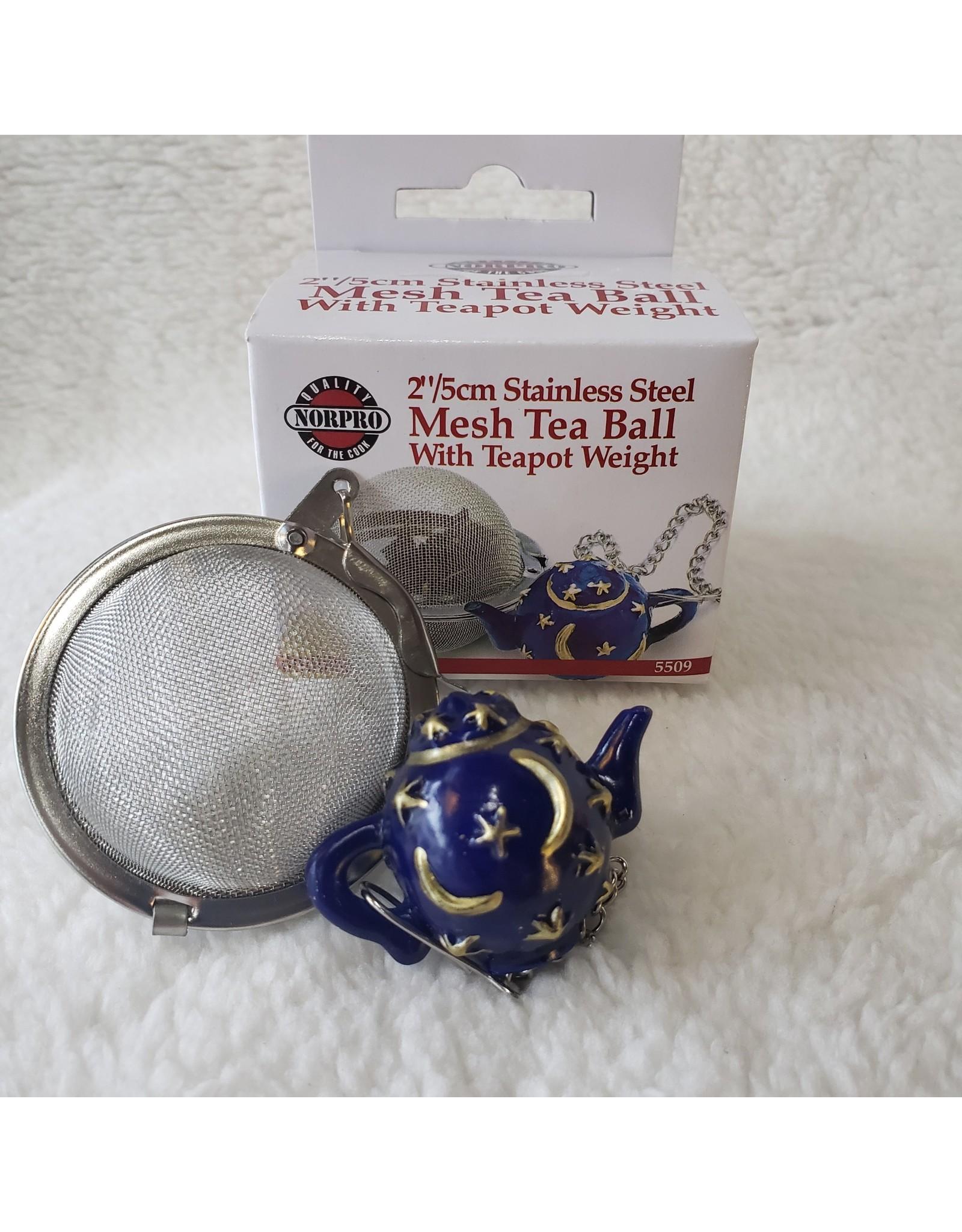 Mesh Tea Ball w/ Teapot Weight