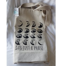 It's Just A Phase - Tote Bags | Tan