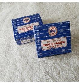 Satya Nag Champa   Dhoop Cones 12 ct.