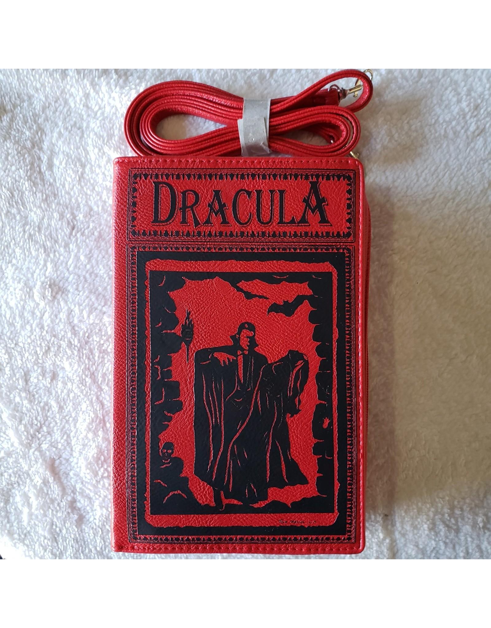 Dracula Book Cross Body Bag - Red