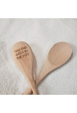 Wooden Spoon - This End Goes in The Pot