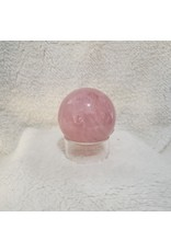 Polished Rose Quartz Sphere