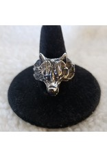 Stainless Steel Wolf Ring V.2