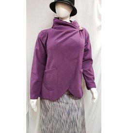 Country Fleece Jacket - Plum - Large