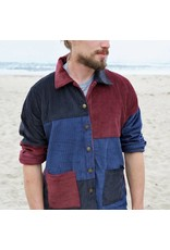 Corduroy Patchwork Jacket - Medium
