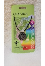 Pewter Chakra Necklace V.1