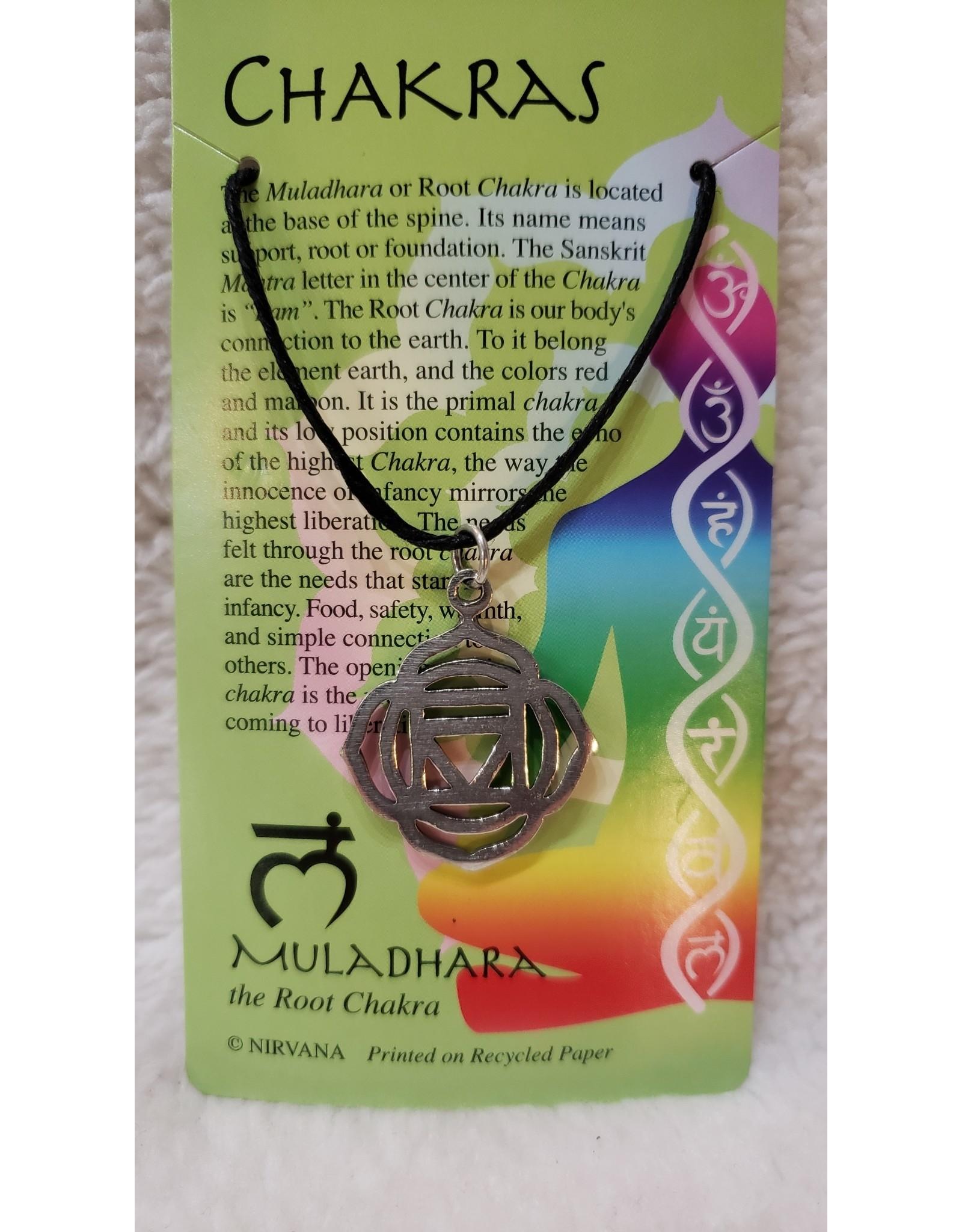 Pewter Chakra Necklace v.2
