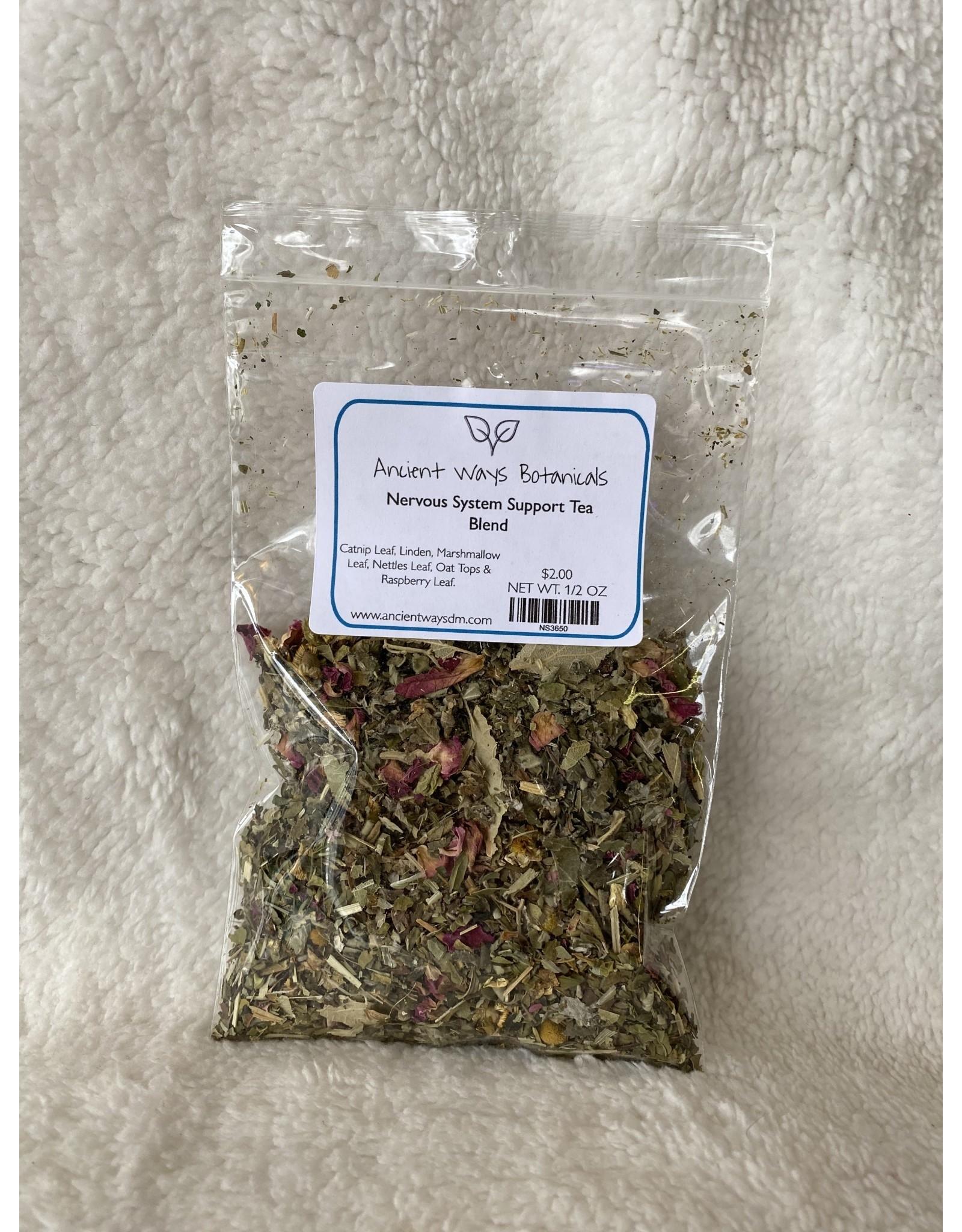 Nervous System Support Tea Blend - 1/2 oz