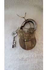 Antique Brass Lock