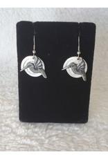 Hummingbird Pewter Earrings