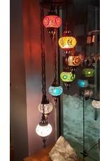 7 Chakras Rainbow Turkish Lamp