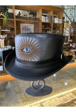 Evil Eye Hat - Black - LG