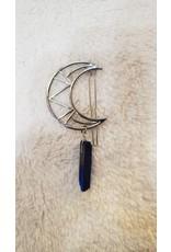 Blue Quartz Hair Clip
