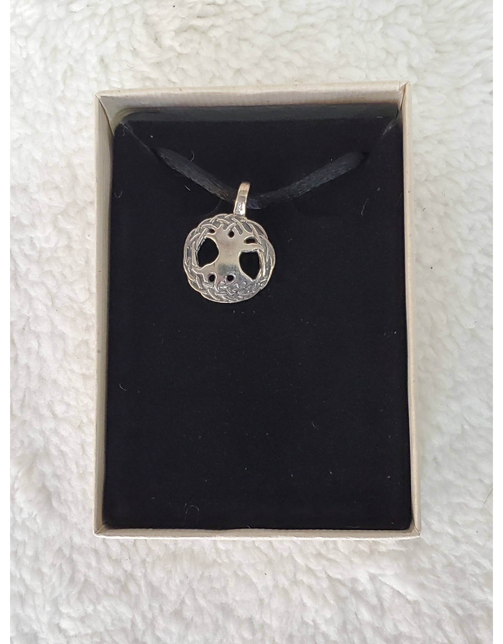 Small SS Tree Of Life Necklace
