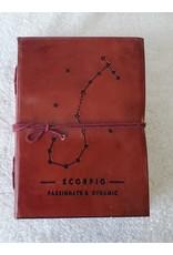 Leather Journal - Zodiac