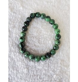 8mm Bracelet - Ruby Zoisite