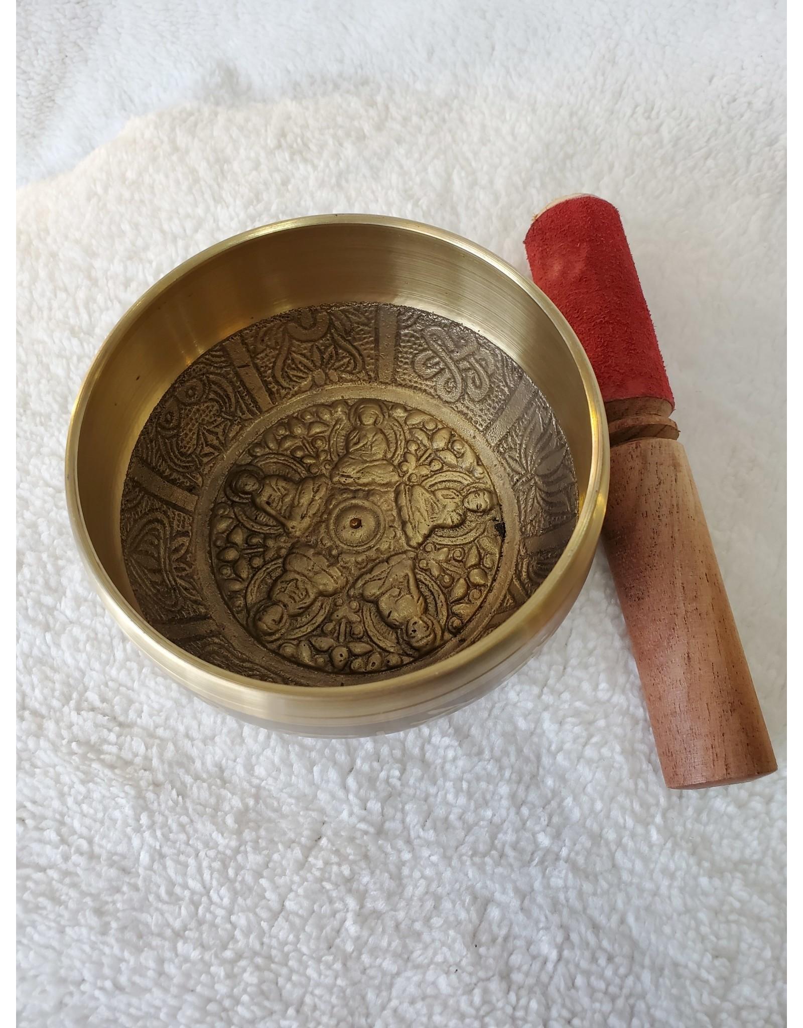 Medium Singing Bowl - Mandala Design