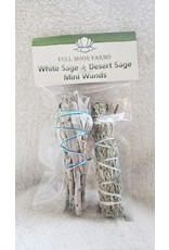 Full Moons Farms Mini Wands | White Sage & Desert Sage