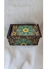 "Jetter Green | The Seed Tarot Card Box | 4"" x 6"""
