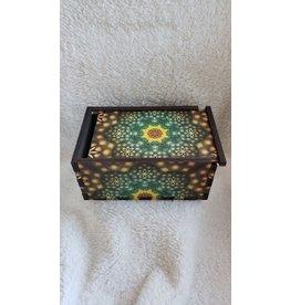 "Jetter Green | The Seed Tarot Card Box | 4"" x 6"""