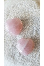 Puffy Heart | Rose Quartz