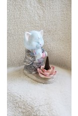 Master Meow Ceramic Incense Burner