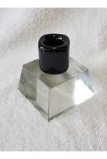 6 Inch Candle Holder   Black