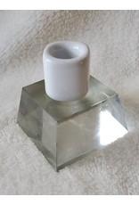 6 Inch Candle Holder   White