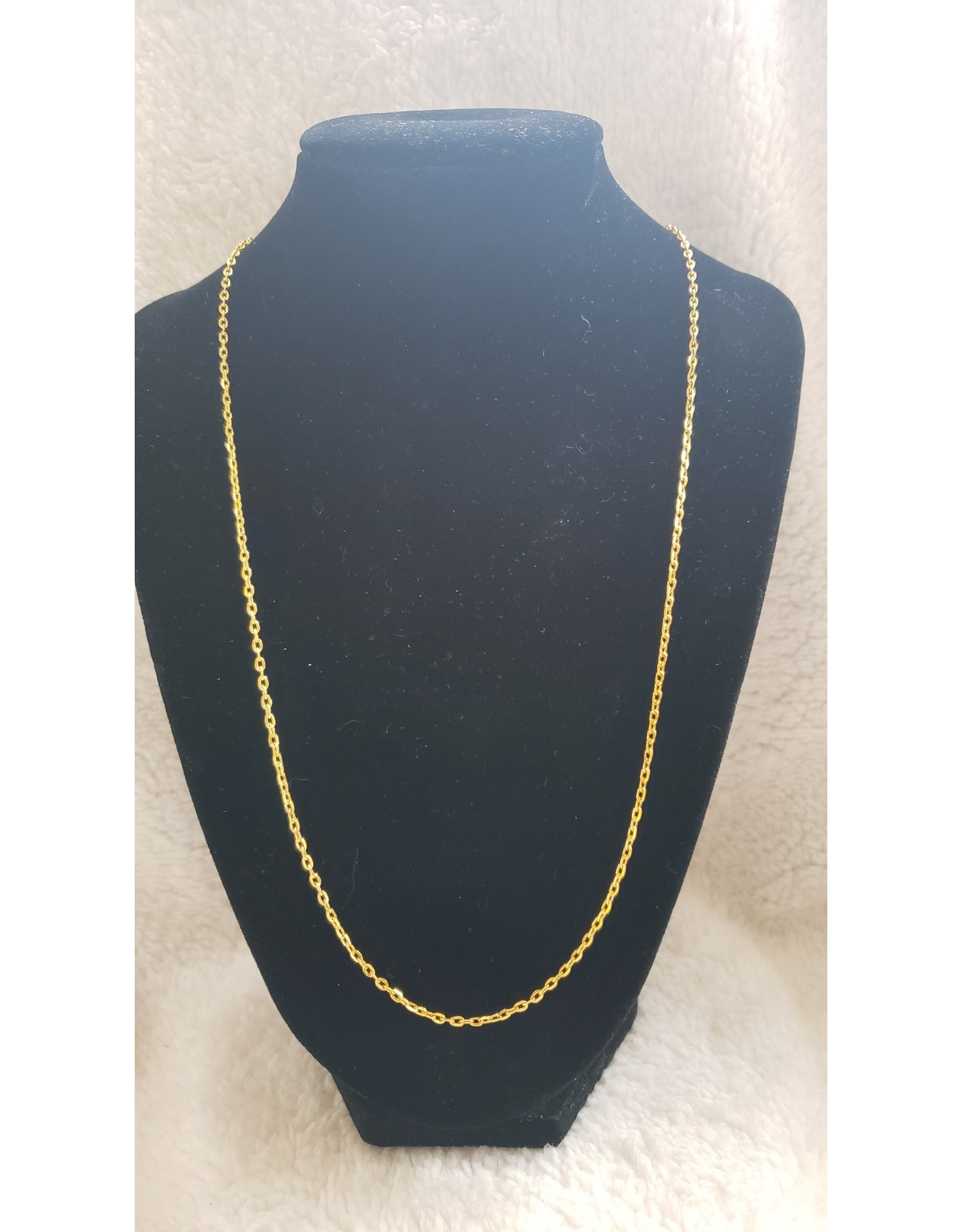 """24"""" Gold Link 2.5mm Chain"""