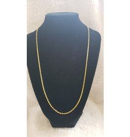 "24"" Gold Link 2.5mm Chain"