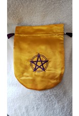 Satin Bag | Pentagram | Gold