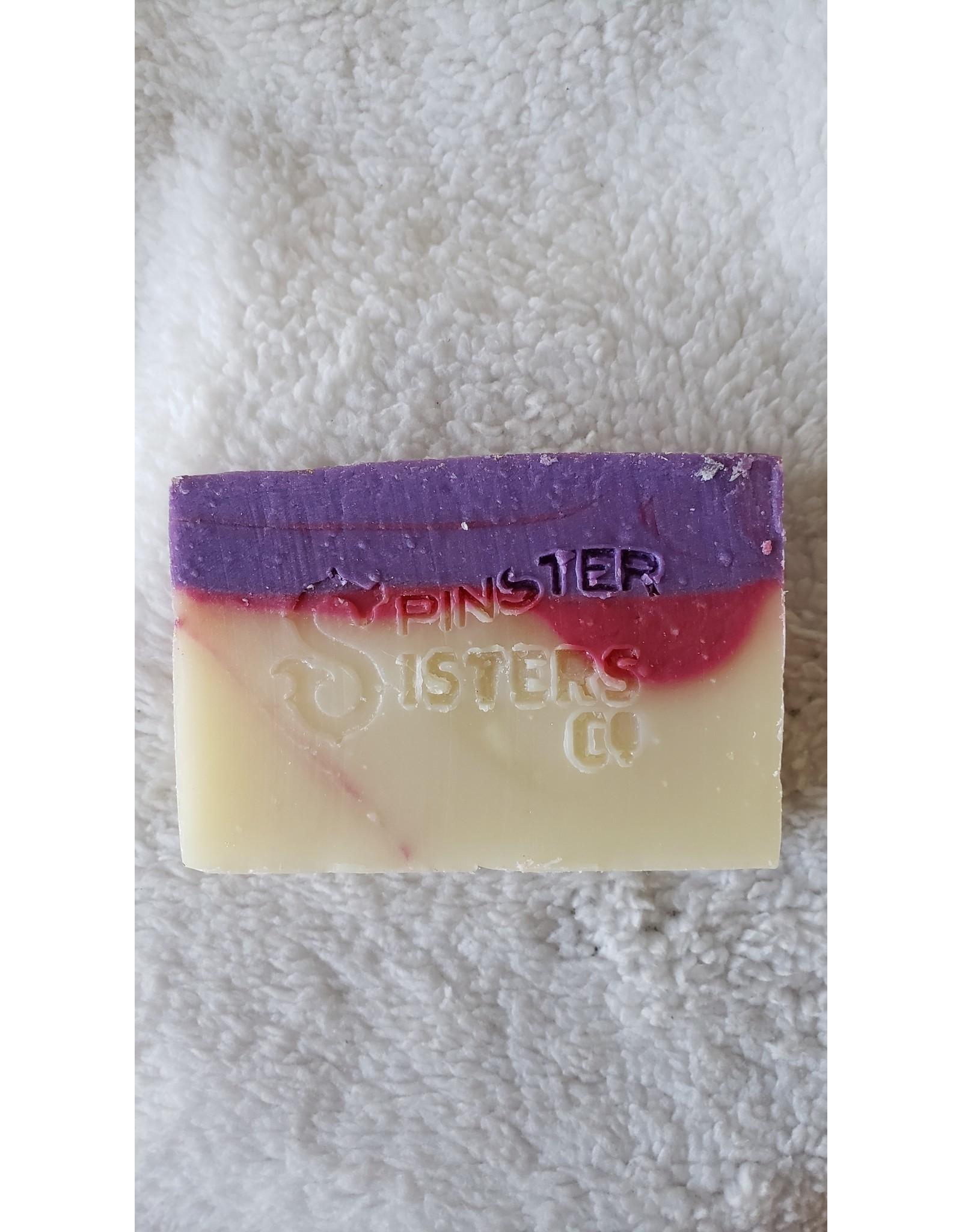 Spinster Sisters Co. Lavender Rose - 4.8 oz Naked Soap Bar