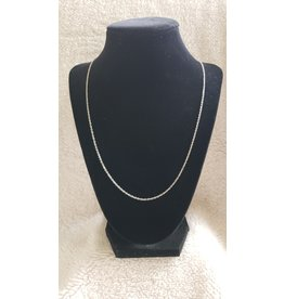 """24"""" Silver Plated Brass Chain"""