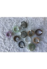 Assorted Natural Stone Band Ring