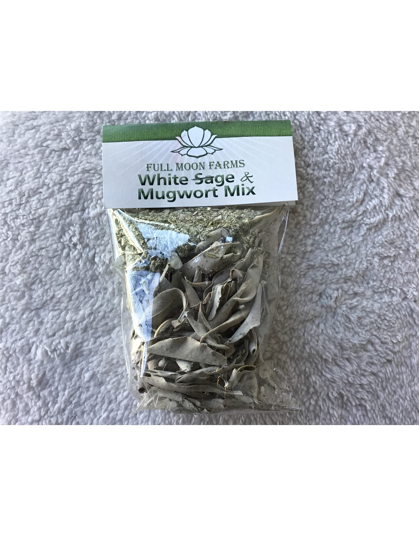 Full Moons Farms White Sage & Mugwort Mix