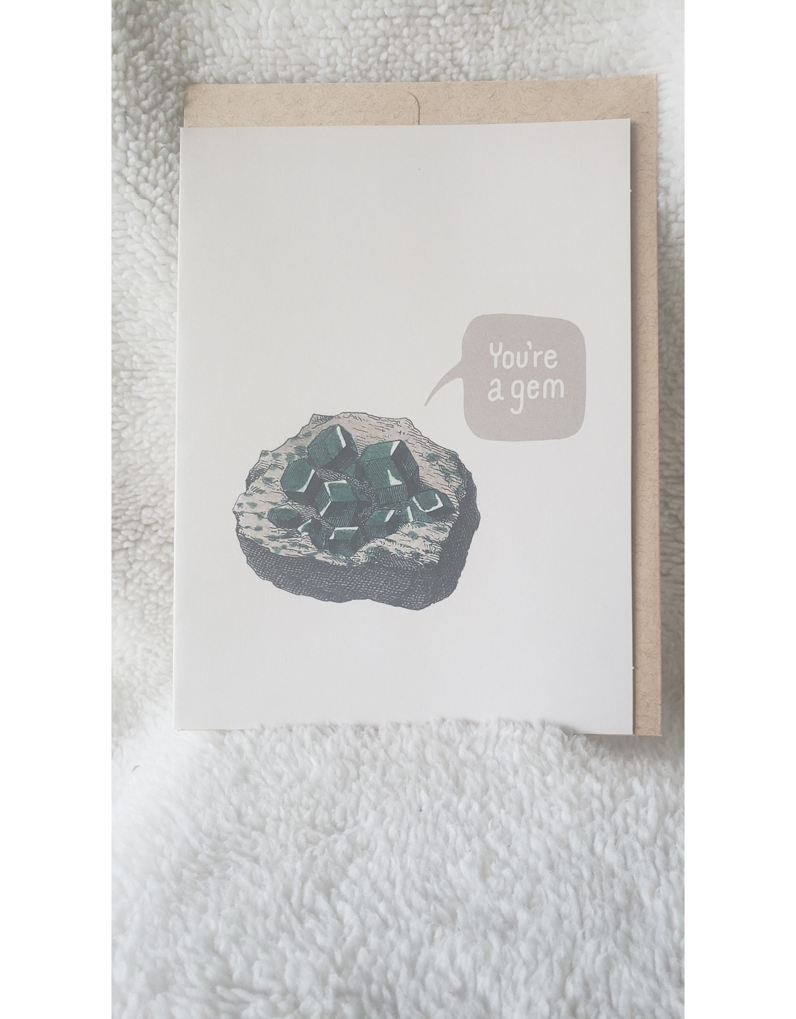 Greeting Card | You're A Gem