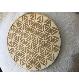 """Zen and Meow Flower of Life Inverted Crystal Grid 