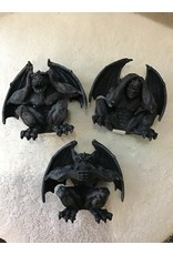 Gargoyle No Evil Shelf Sitters   Set of 3