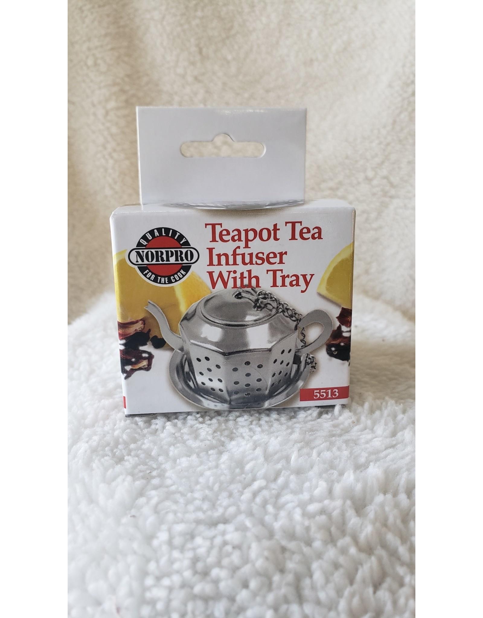 Teapot Tea Infuser w/ Tray