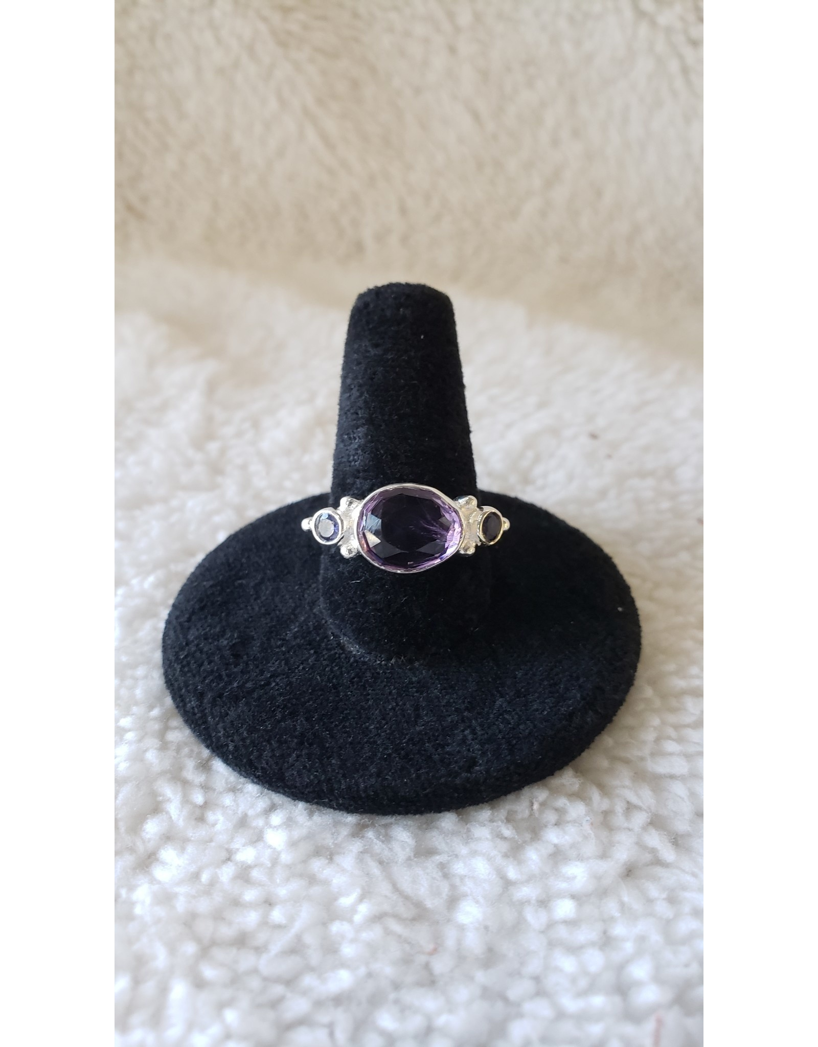 Dreamers Amethyst Sterling Ring | Size 8