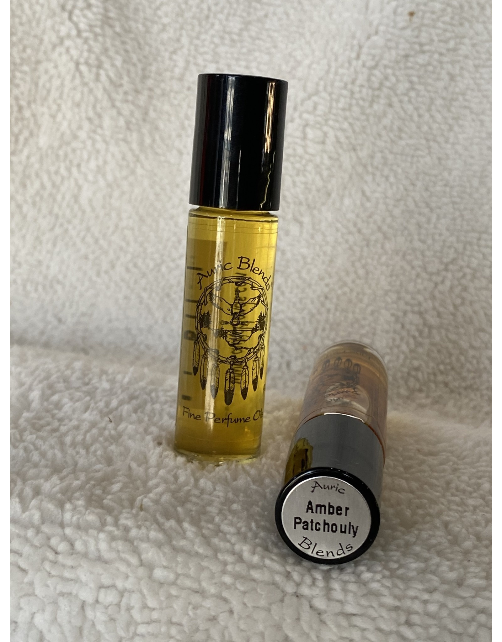 Auric Blends Perfume Roll-on | Amber Patchouly