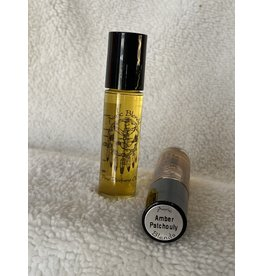Auric Blends Perfume Roll-on   Amber Patchouly