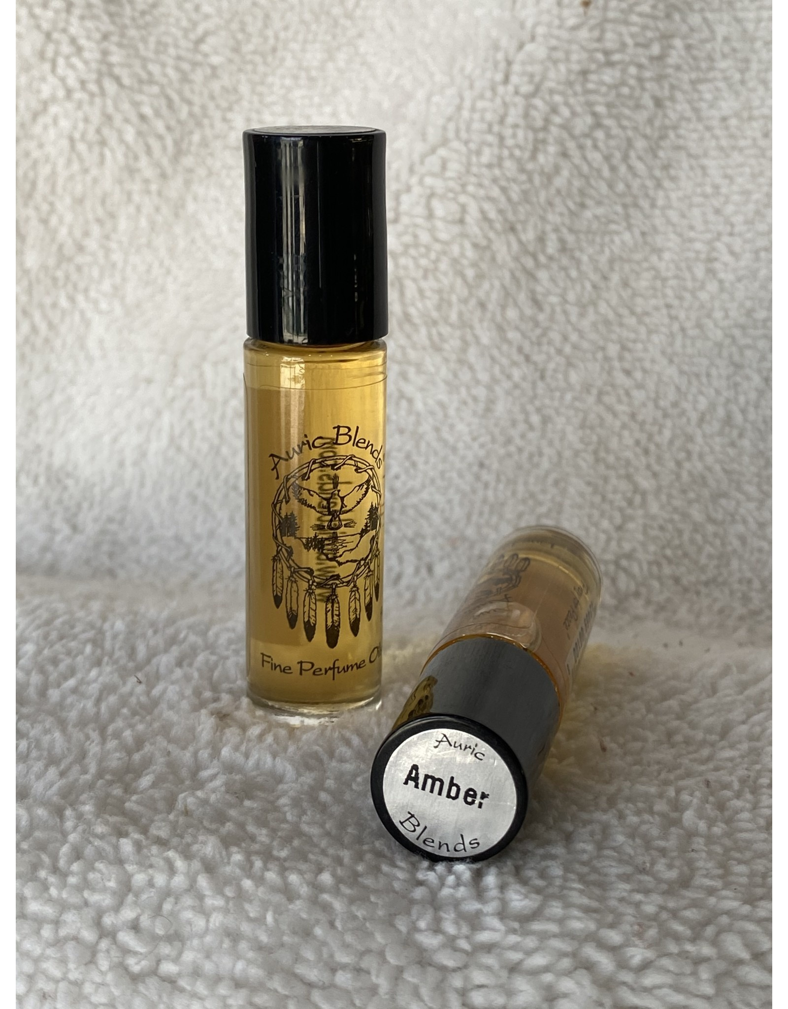 Auric Blends Perfume Roll-on   Amber