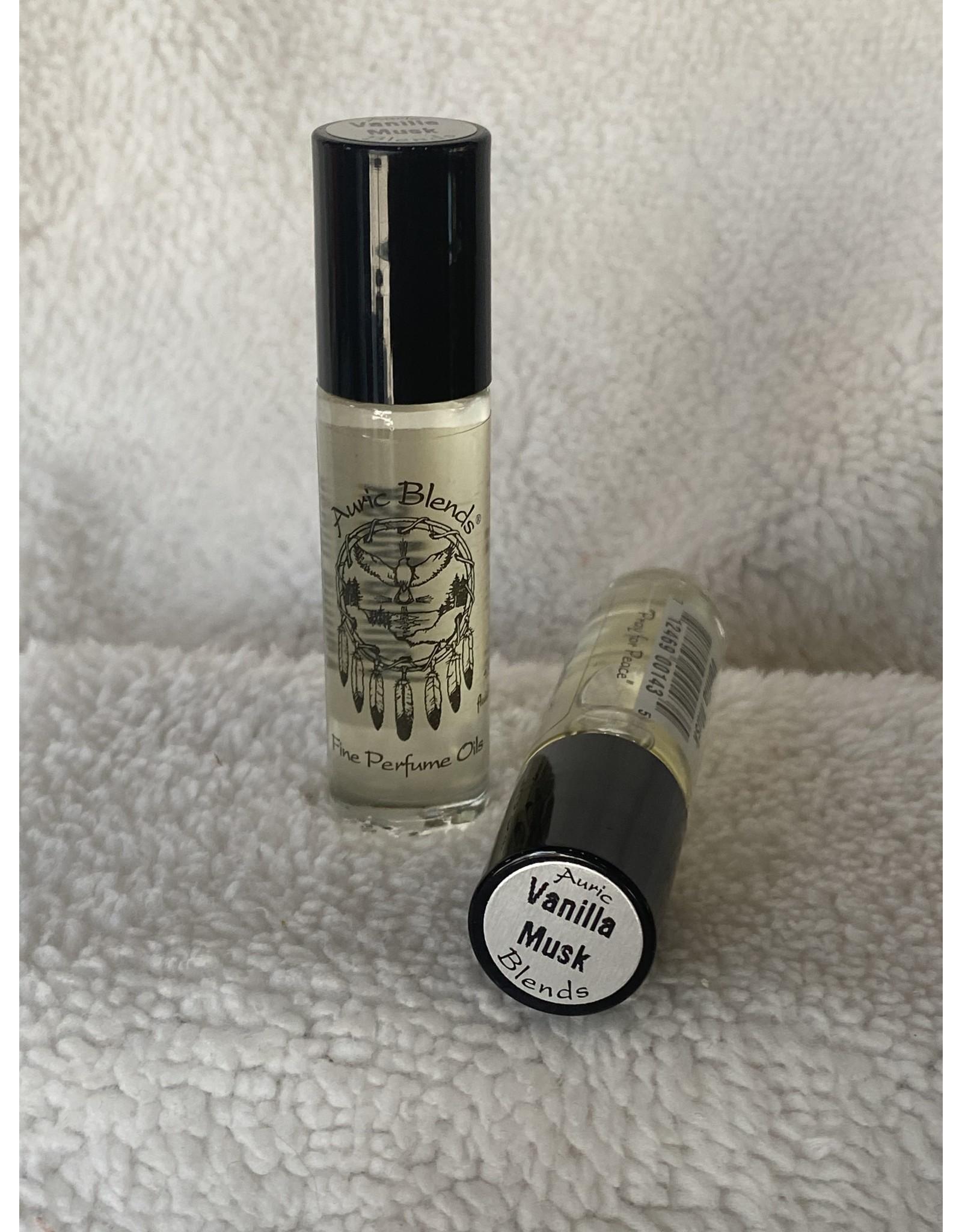 Auric Blends Perfume Roll-on   Vanilla Musk
