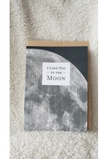 I Love You To The Moon   Card