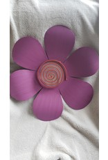 Assorted Colored Flower Wall Hang